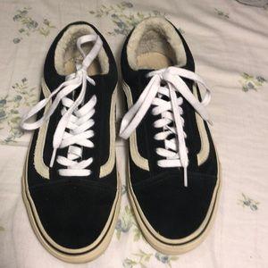 eafb0ab2284 Vans Shoes - madewell x vans old skool sneakers suede   sherpa